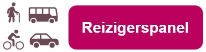 Logo van het Reizigerspanel